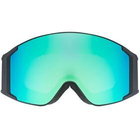 UVEX g.gl 3000 TO Masque, black mat/fullmirror green